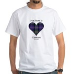 Heart - Cameron of Erracht White T-Shirt