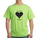 Heart - Cameron of Erracht Green T-Shirt