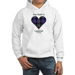 Heart - Cameron of Erracht Hooded Sweatshirt