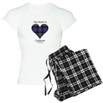 Heart - Cameron of Erracht Women's Light Pajamas