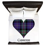 Heart - Cameron of Erracht King Duvet