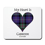 Heart - Cameron of Erracht Mousepad
