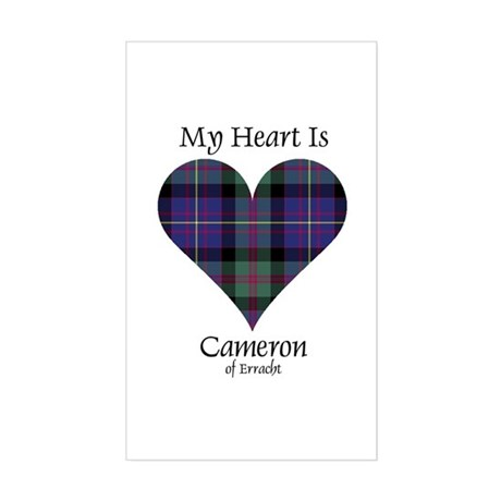 Heart - Cameron of Erracht Sticker (Rectangle)