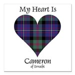 Heart - Cameron of Erracht Square Car Magnet 3