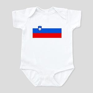 Flag of Slovenia Infant Bodysuit