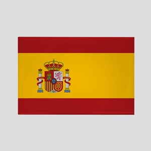 Flag of Spain Rectangle Magnet