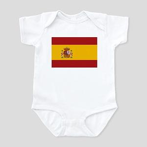 Flag of Spain Infant Bodysuit