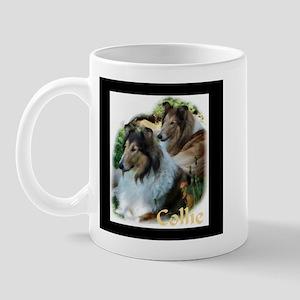 Collie Art Gifts Mug