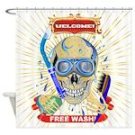 Shower Curtain Free Wash!