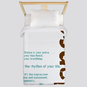 Dance the Rhythm of your Life Twin Duvet