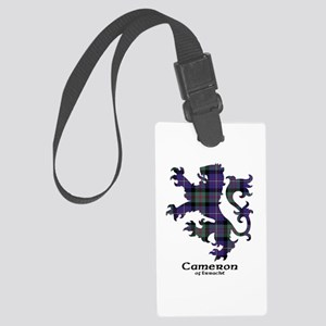 Lion - Cameron of Erracht Large Luggage Tag