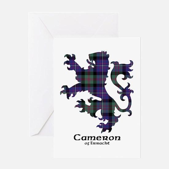Lion - Cameron of Erracht Greeting Card