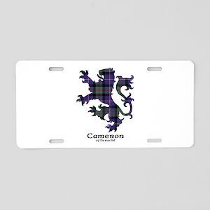 Lion - Cameron of Erracht Aluminum License Plate