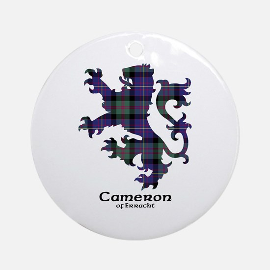 Lion - Cameron of Erracht Ornament (Round)