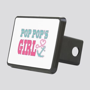 Pop Pops Girl Boat Anchor and Heart Hitch Cover