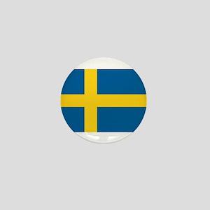 Flag of Sweden Mini Button