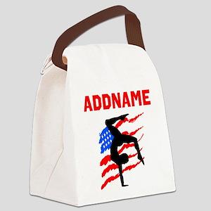 GRACEFUL GYMNAST Canvas Lunch Bag