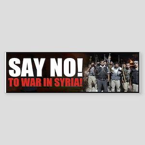 MUSLIM WARS Bumper Sticker