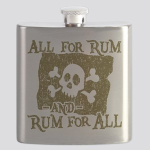 All For Rum Flask