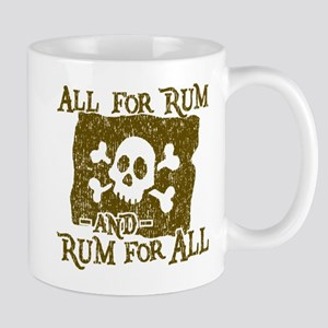 All For Rum Mugs