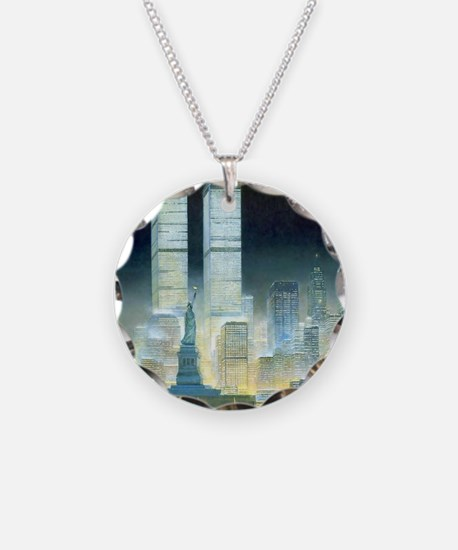 Twin Towers Necklace