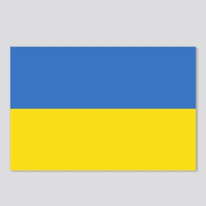 Flag of Ukraine Postcards (Package of 8)