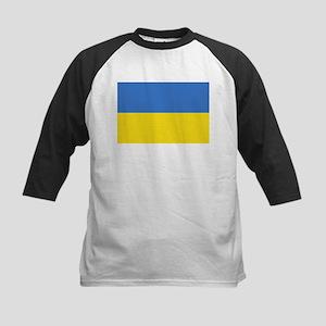 Flag of Ukraine Kids Baseball Jersey