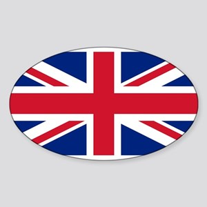 Flag of the UK Oval Sticker