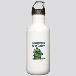 Monsters are hungry Stainless Water Bottle 1.0L