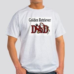 Golden Retriever Dad Ash Grey T-Shirt