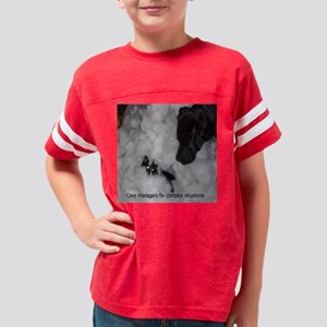 5x5 Case man fix Youth Football Shirt