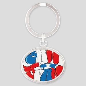 San Juan Puerto Rico Oval Keychain