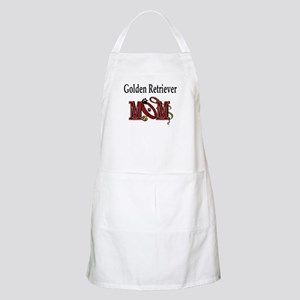 Golden Retriever Mom BBQ Apron