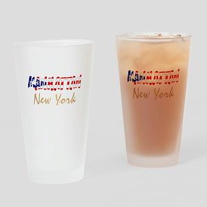 Boricua Manhattan, New York Drinking Glass