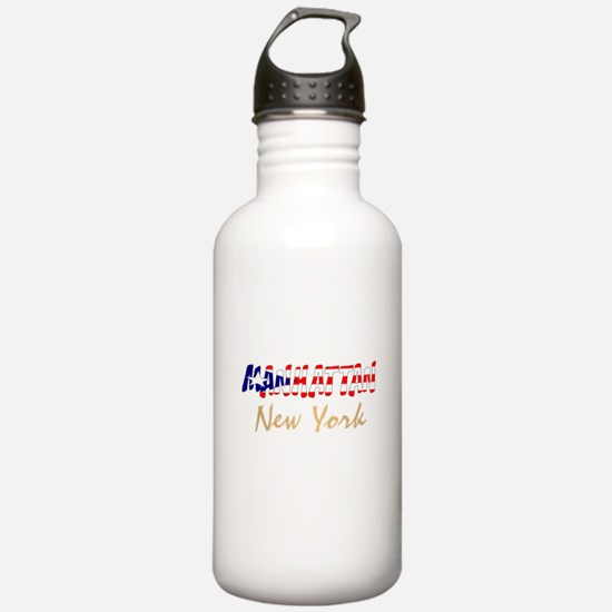Boricua Manhattan, New York Water Bottle