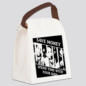 Save money, Spend Time with your  Canvas Lunch Bag
