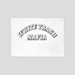 White Trash Mafia 5'x7'Area Rug