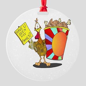 Family Bucket Ornament