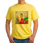 Pizza Dog Yellow T-Shirt