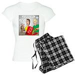 Pizza Dog Women's Light Pajamas