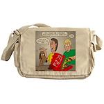 Pizza Dog Messenger Bag