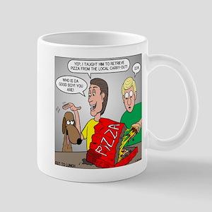 Pizza Dog Mug