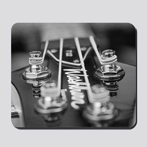 Washburn Bass Guitar black and white Mousepad