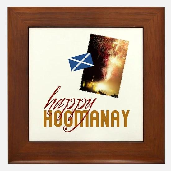 Hogmanay Framed Tile
