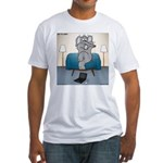 Polar Bears and Reindeer Fitted T-Shirt