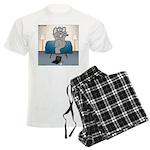 Polar Bears and Reindeer Men's Light Pajamas