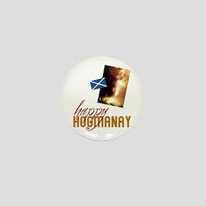 Hogmanay Mini Button