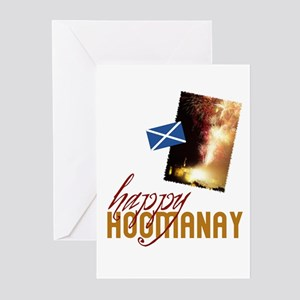 hogmanay greeting cards pk of 10