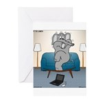 Polar Bears and Reindeer Greeting Cards (Pk of 10)