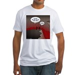 Wi-Fi in Hell Fitted T-Shirt
